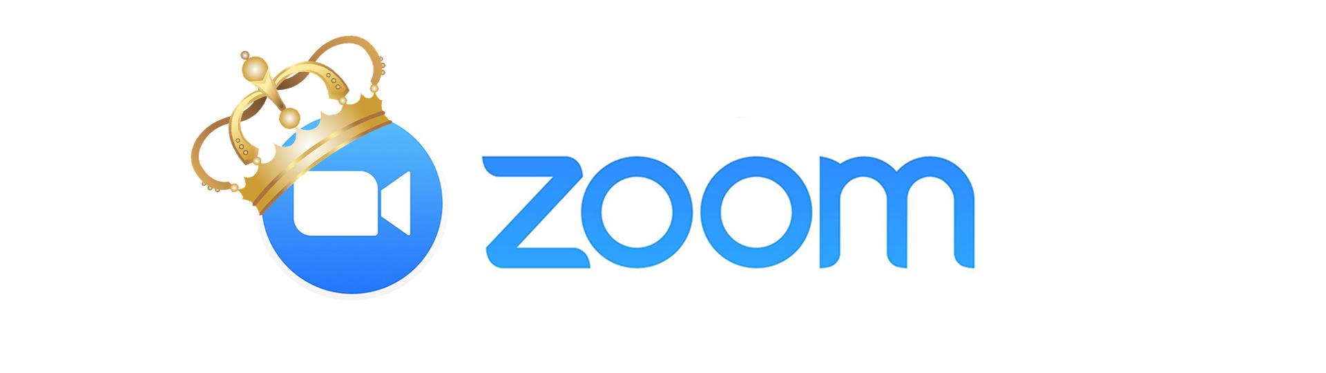 Zoom Logo Wearing a Crown